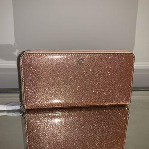 Kate Spade Mavis Street Rose Gold Glitter Neda